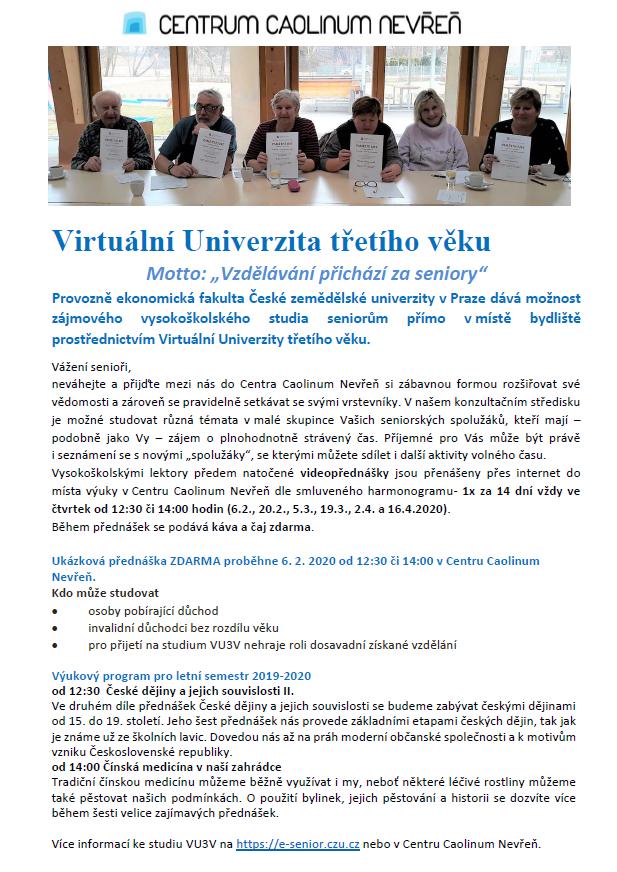 plakát VU3V L 19-20